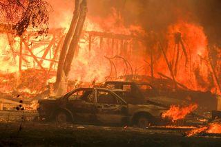 Al menos 23 muertos en California: ya es el incendio más destructivo de la historia de estado