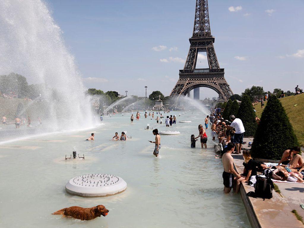 París calor