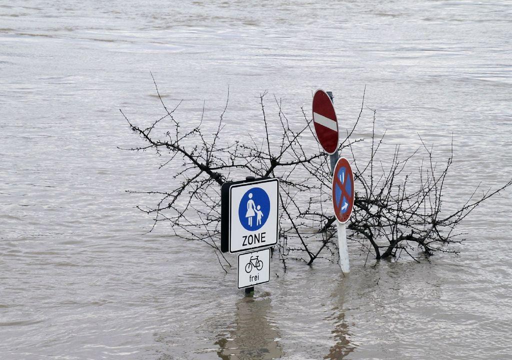 Al momento se ha estimado que los daños en infraestructuras en Alemania ascienden a 2 mil millones de euros