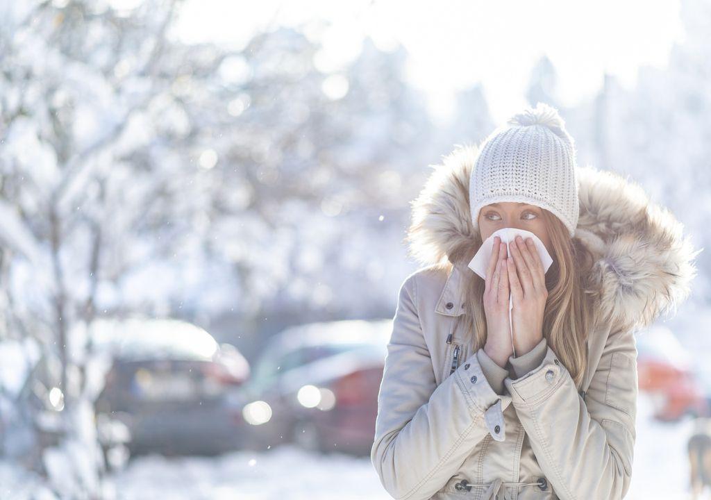 alergia invierno