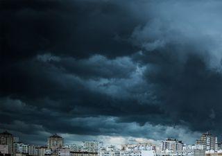 Alerta de chuvas volumosas e temporais na Região Sul