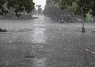 Alerta de chuvas volumosas e temporais para a Região Sul