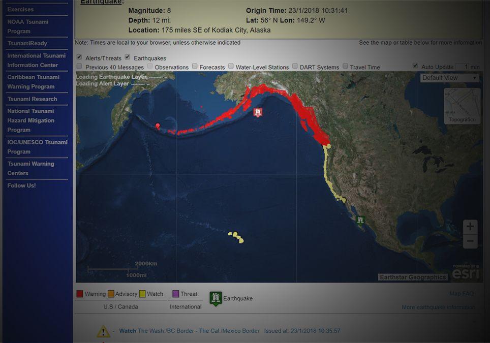 Tsunami EEUU