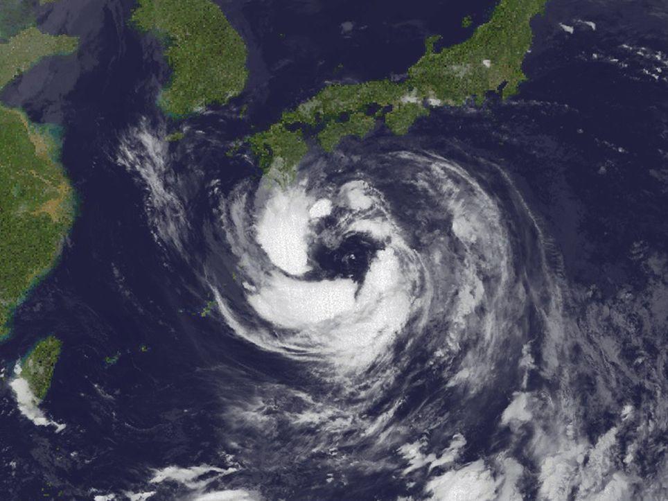 Tifón Krosa Japón