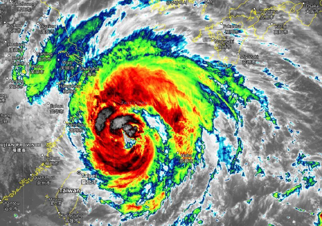 Taifun In-Fa China