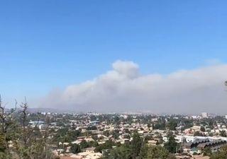 Alerta Roja en Valparaíso y Quilpué por incendio en Lago Peñuelas