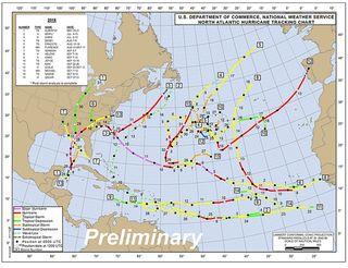 Algunas consideraciones de la temporada de huracanes de 2018