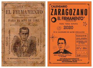 Almanaques con historia, como el Calendario Zaragozano