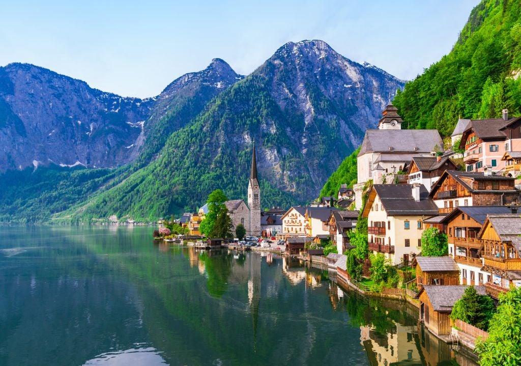 Alpes Suiços; alteração da paisagem