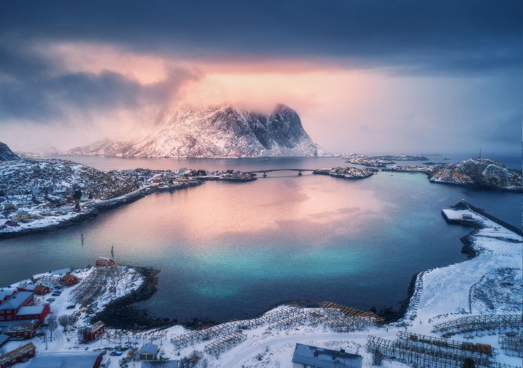 Região habitada do Ártico