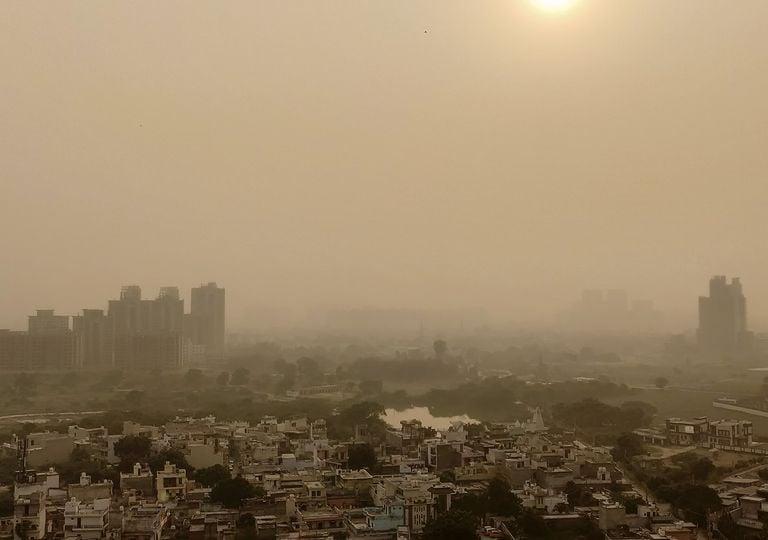 Nueva Delhi episodio contaminación