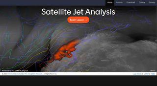 Análisis de la chorro desde satélite