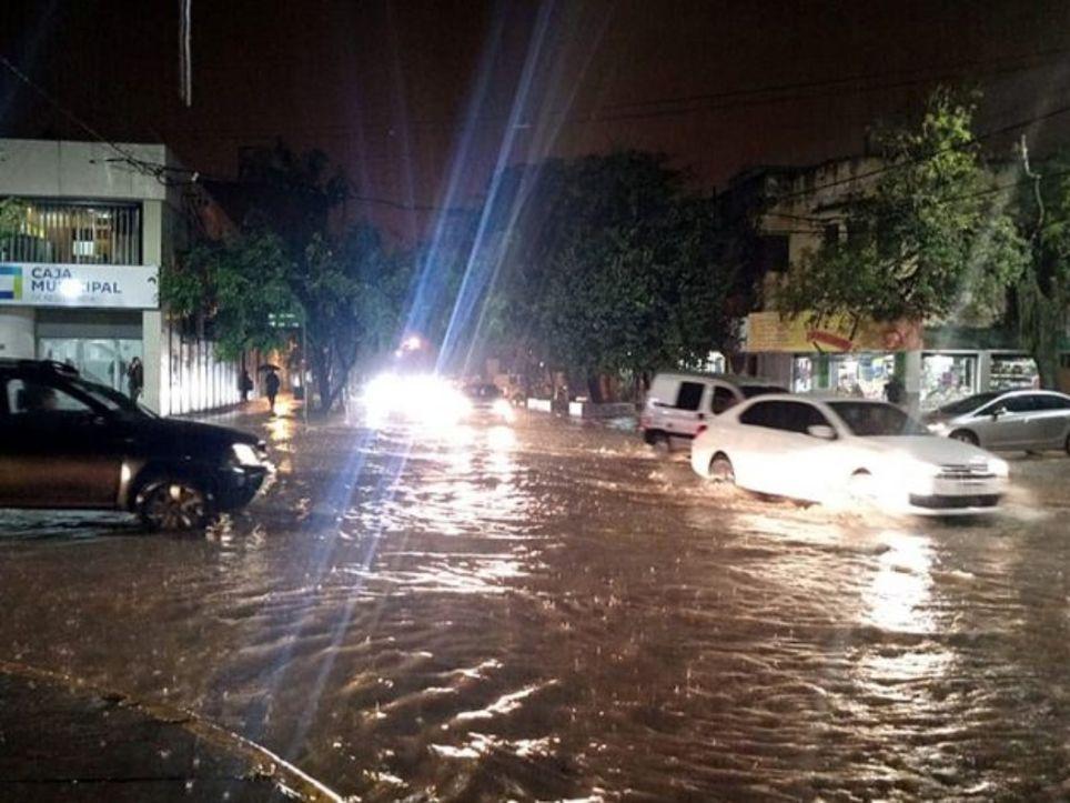Resistencia Corrientes lluvias inundaciones