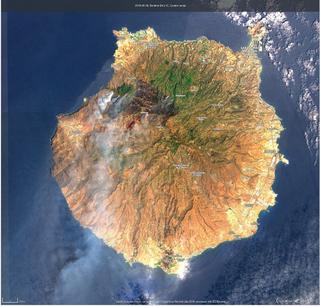 Aniversario de los incendios de agosto del 2019 en Gran Canaria