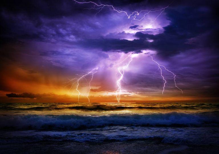 Tempestades en el mar