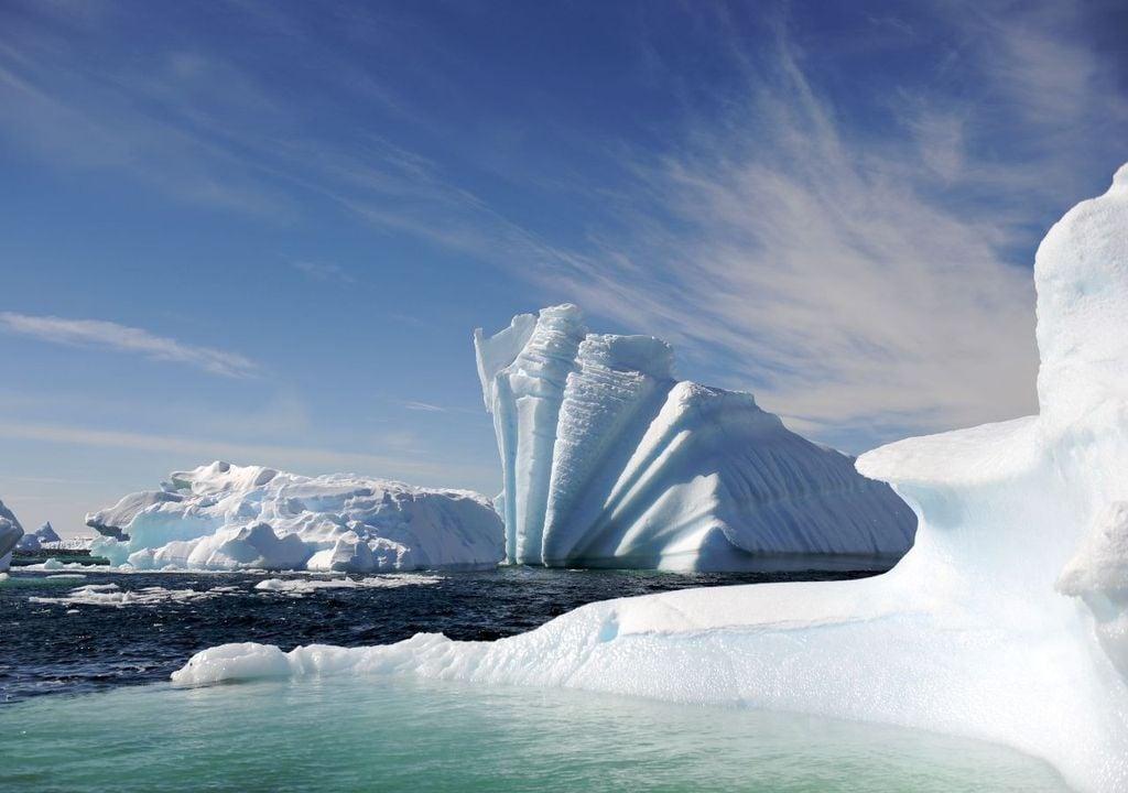 efeito Foehn e calor na Antártica