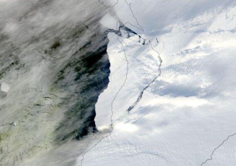 nasa, iceberg, tempano, antartida