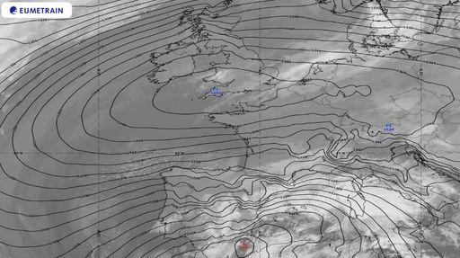 Anticiclón: nuevo récord absoluto de altas presiones en Francia