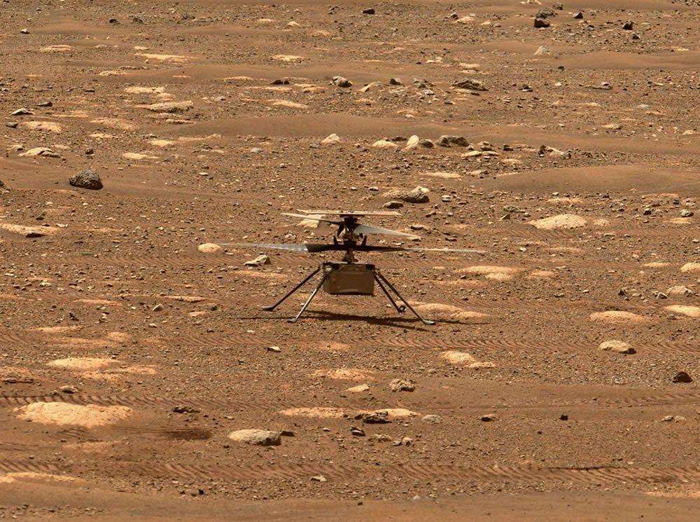 Aplazado el vuelo del minihelicóptero Ingenuity sobre Marte