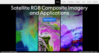 Aplicaciones e imágenes compuestas RGB satelitales