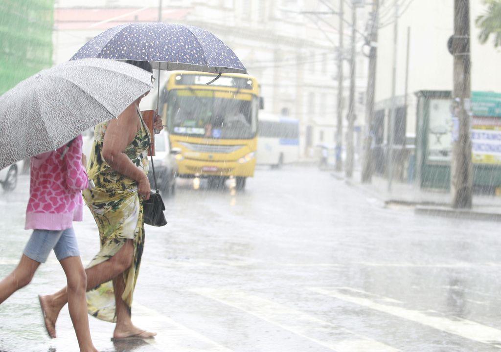 chuva e frio na Bahia