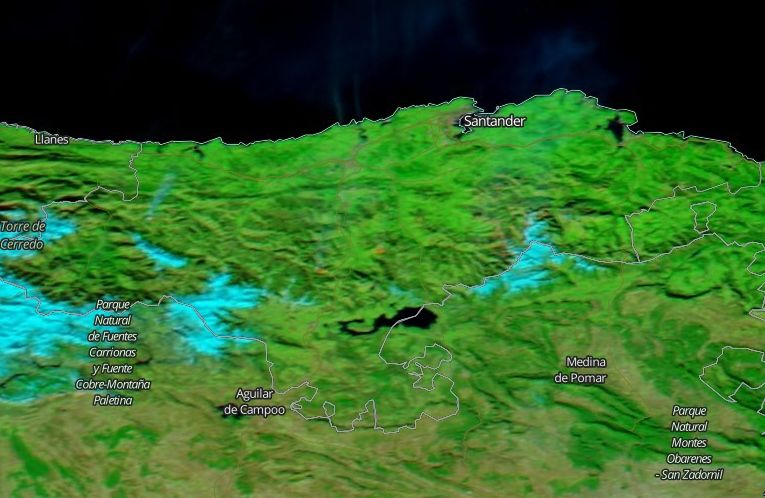 Arde Cantabria En Invierno
