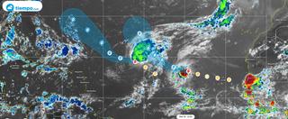 """""""Arde"""" el Atlántico tropical con Paulette, Rene y dos áreas más"""