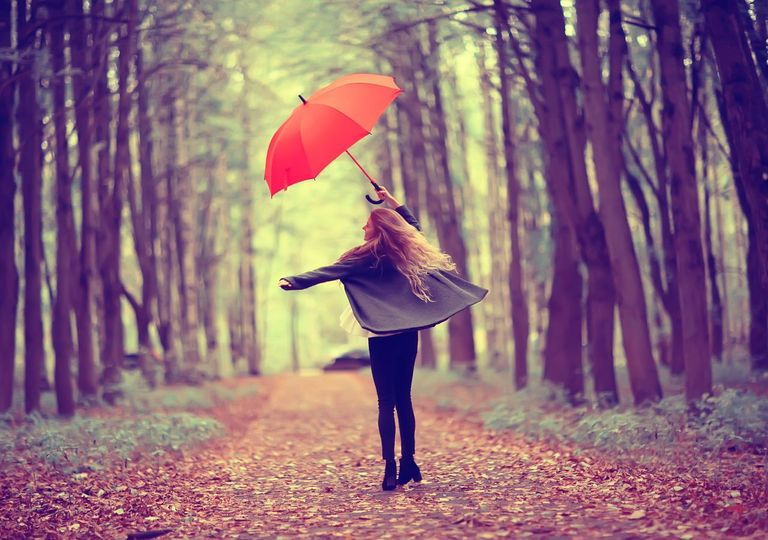otoño, tendencia, lluvia, temperaturas