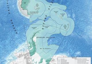 Argentina se transformó en gigante geográfico al sumar la plataforma