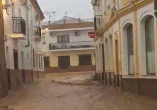 Arrecia el temporal: Bárbara deja ya más de 100 l/m2 en el oeste