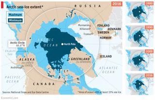 Ártico libre de hielo marino para 2040
