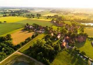As áreas rurais já sentem o calor da urbanização
