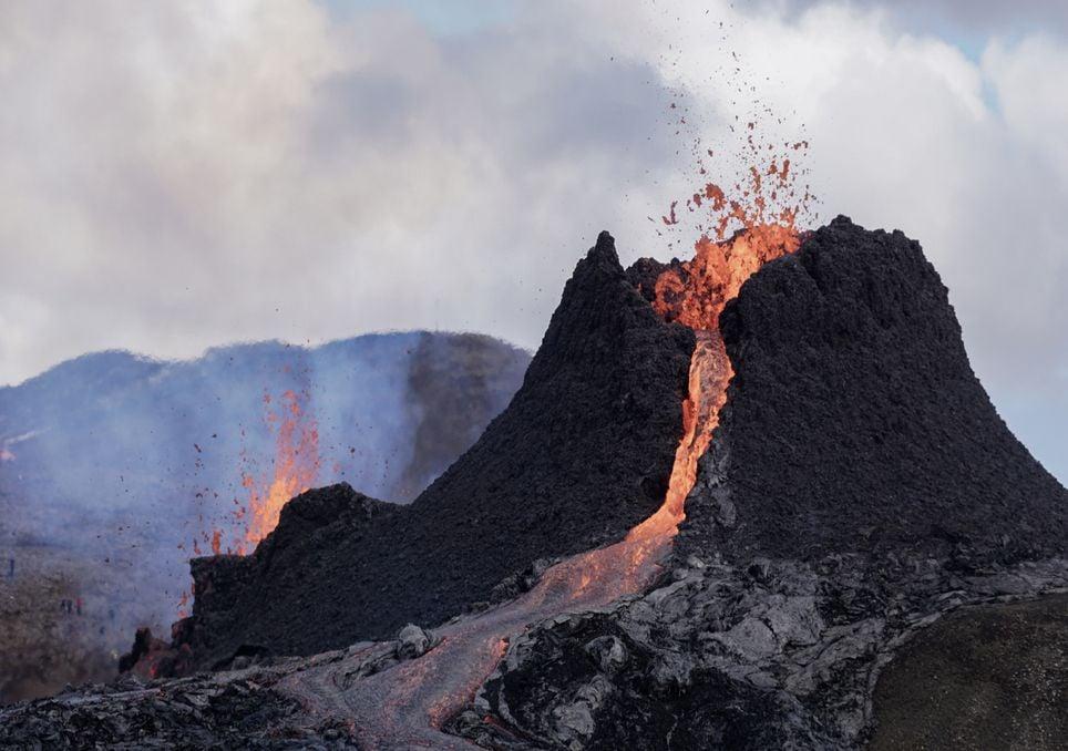As curiosas nuvens da Islândia