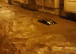 As imagens dos efeitos devastadores das tempestades Elsa e Fabien