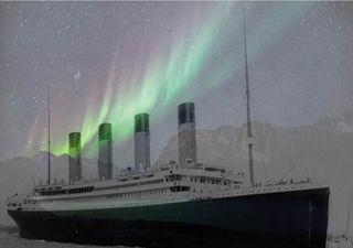 Luces de aurora boreal podrían explicar la tragedia del Titanic