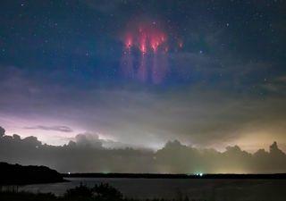 'Sprites' un asombroso fenómeno de luz