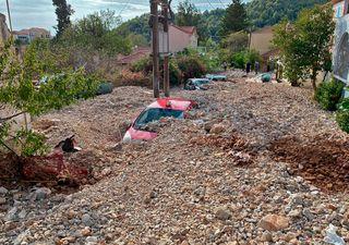 Ásos y Valleraugue literalmente sepultados tras las inundaciones