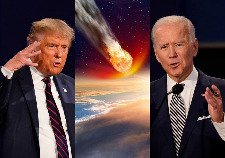 Asteroide e eleições EUA