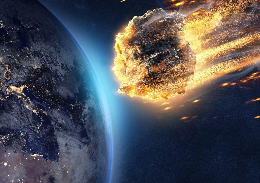 Asteroid auf Weg zur Erde