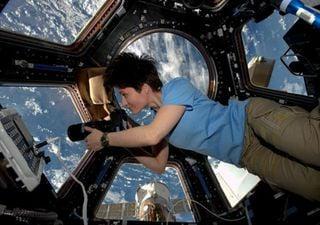 Astronauta 'apanha' fumaça a pairar na estratosfera