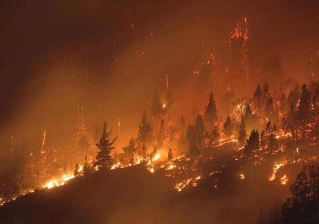 incendios, el bolson, patagonia