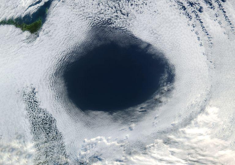 Buraco na camada de ozono Ártico