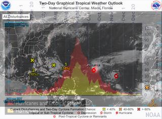 """El Atlántico tropical está """"hirviendo"""": 2 huracanes a la vista"""