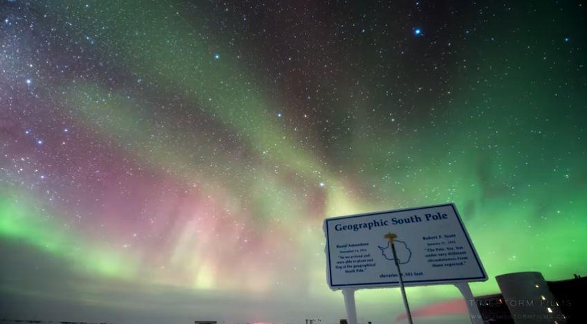 Aurora Polar Del Sur