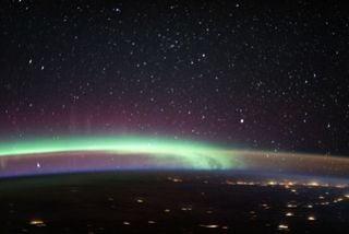 Aurora y resplandor del aire