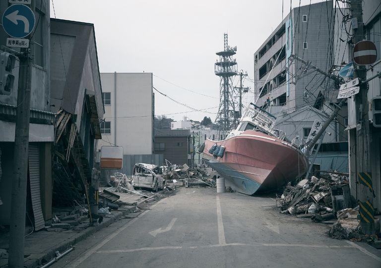 catástrofes naturais;