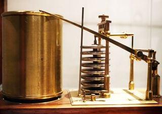 ¿Con qué instrumento se mide la presión del aire?