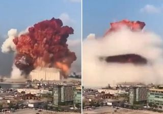 Beirut: explosion modified the ionosphere, measured thanks to GPS