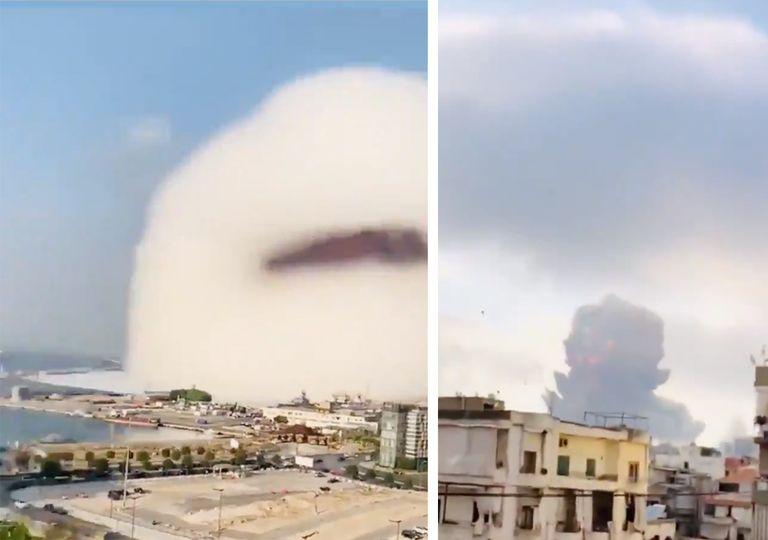 Nube de Wilson en Beirut