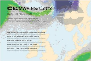 Boletín de Invierno 2017/18 del ECMWF